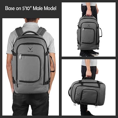 Hynes Eagle Carry on Backpack 02