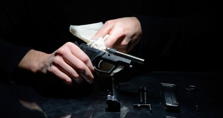 how to clean a gun with household items featured
