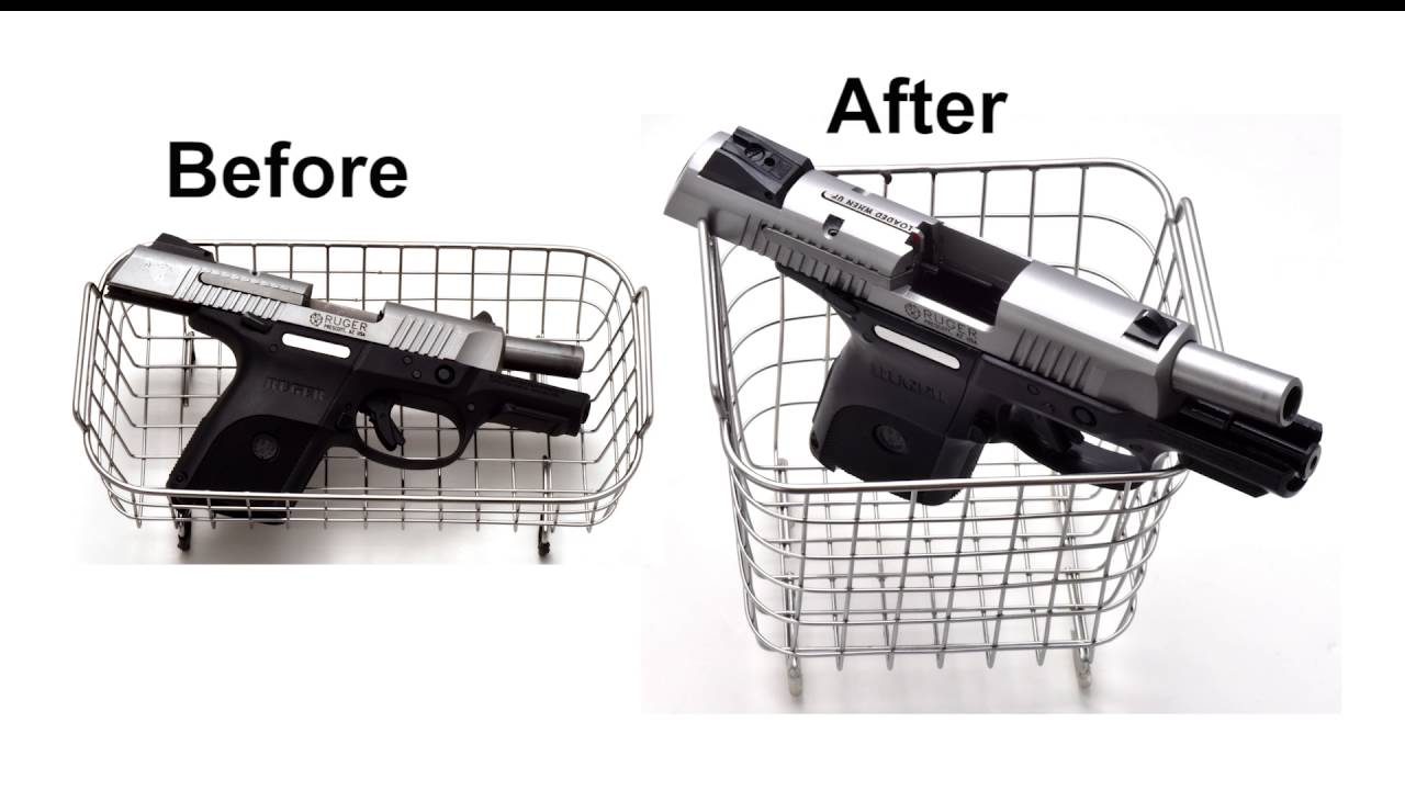 cleaning gun parts with ultrasonic cleaner featured