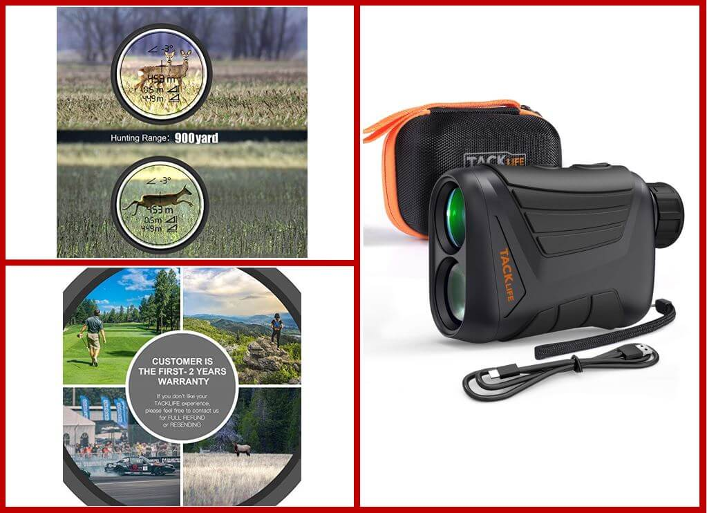 TACKLIFE Hunting Rangefinder