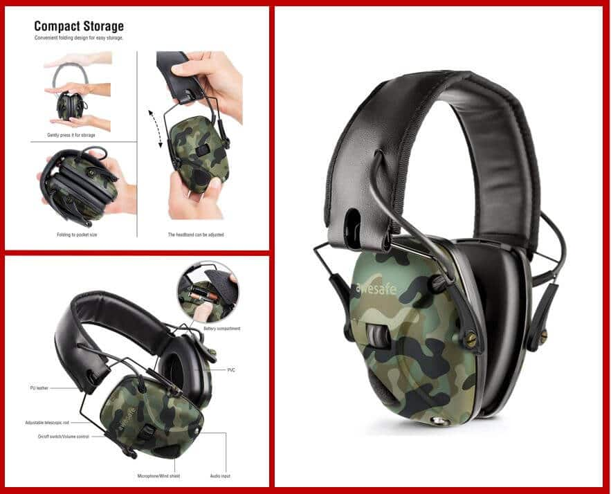 Awesafe Electronic Shooting Earmuff