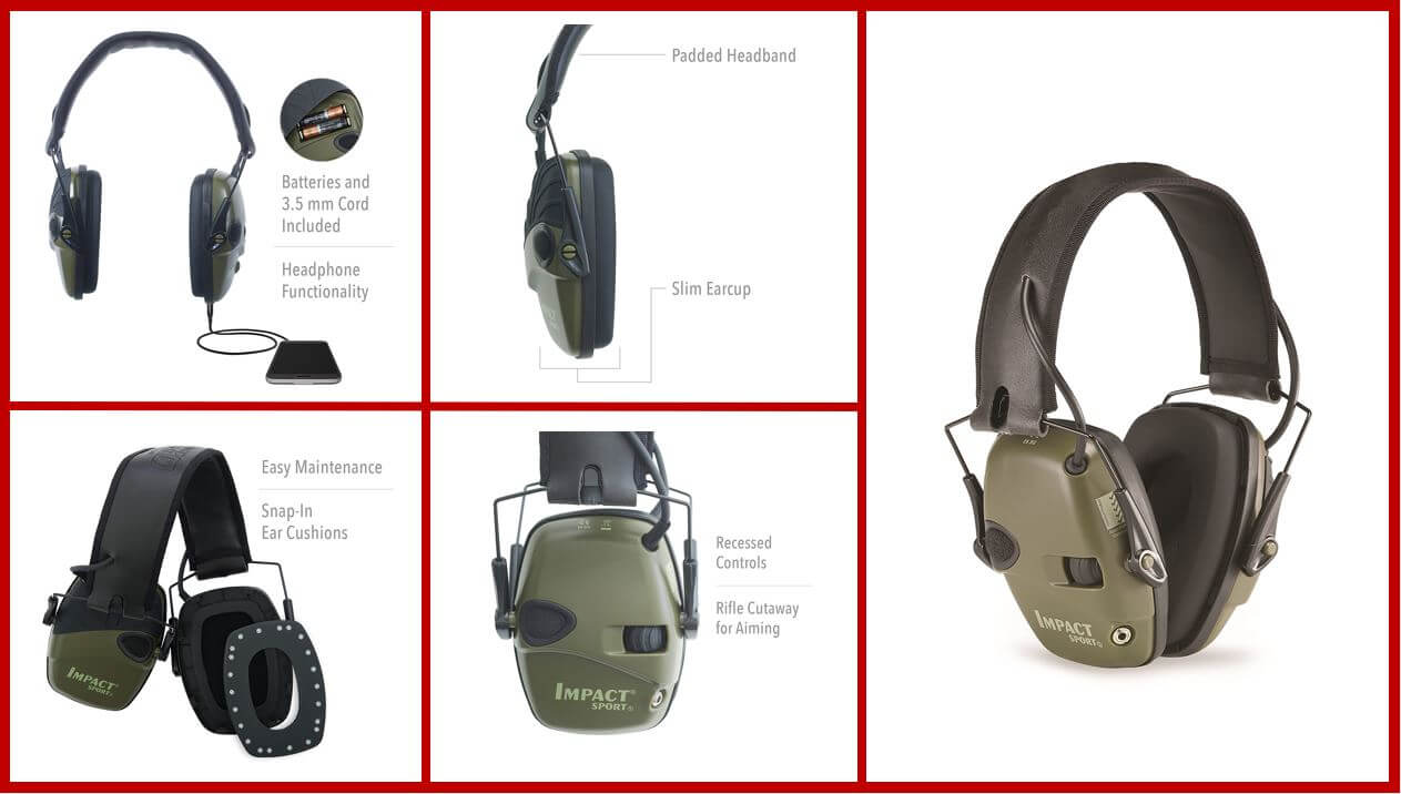 Howard Leight Impact Pro R-01526 Electronic Earmuff