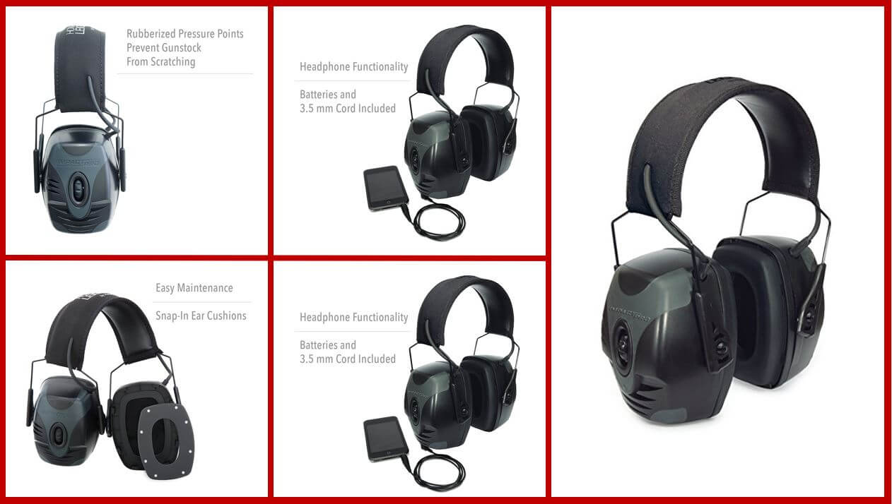 Howard Leight Impact Pro R-01902 Electronic Earmuff