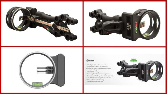 TRUGLO Carbon XS Multiple Pin Bow Sight